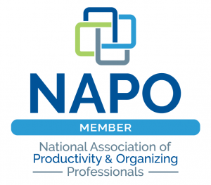 NAPO Member National Association of Productivity & Organizing Professionals badge